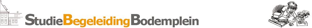 Studiebegeleiding Bodemplein